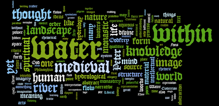 A Wordle of my Thesis Draft